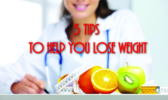 5 Tips to help you lose weight
