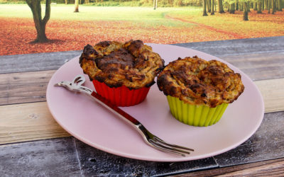 Slender Wonder Apple Muffins – Recipe